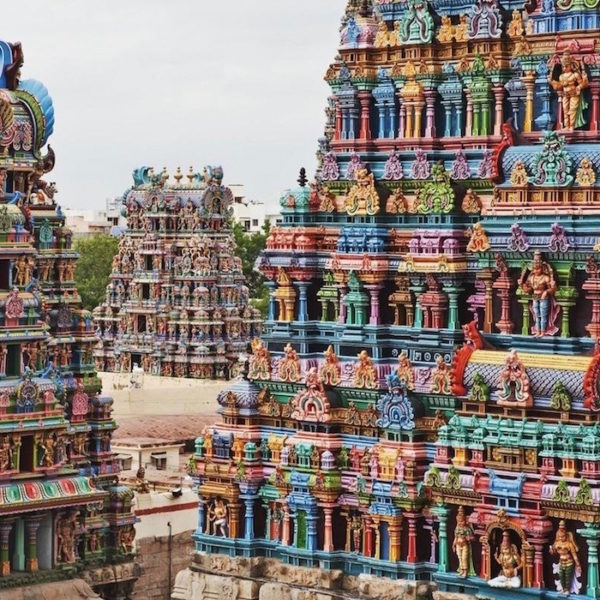 Indien, Inspirationsquelle für die Kollektion DELHI