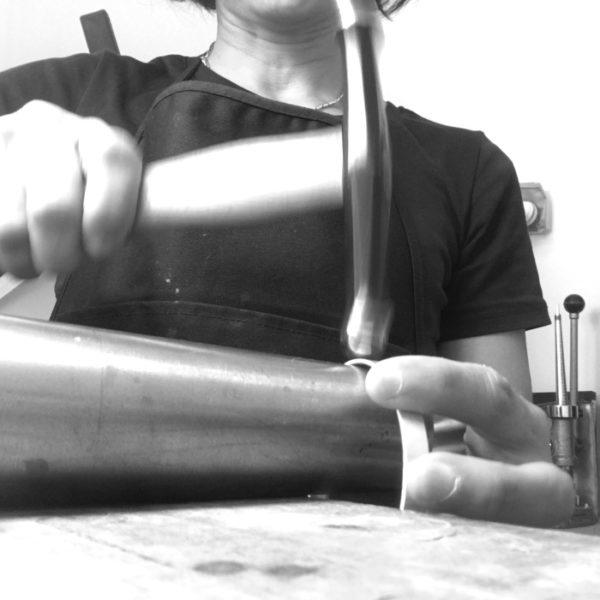 Hammering...