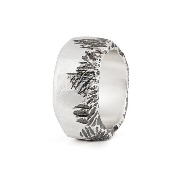 Ring ALANA for men in recycled sterling silver
